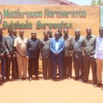 President of Puntland meets the trustees
